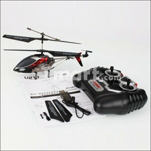 UDI U813 3.5 Channel Infrared Remote Control RC Helicopter Black