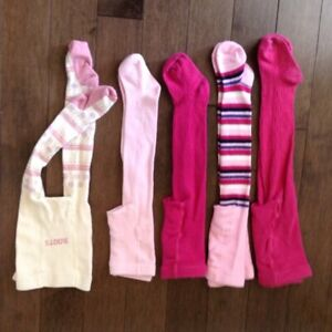 Girls tights and socks - variety of sizes