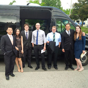 Luxury Group transportation, Shuttle service, Limo Stratford Kitchener Area image 6