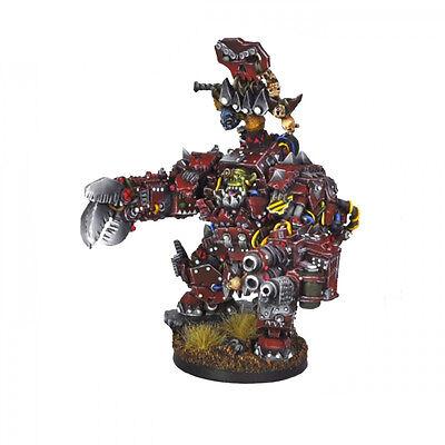 Ork War2 Orc Warchief in Juggernaut Mecha-Armour Kromlech KRM054