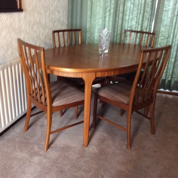dining room table and four chairs in euxton lancashire gumtree