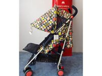MacLaren Quest buggy for sale, Orla Kiely edition for sale, excellent condition
