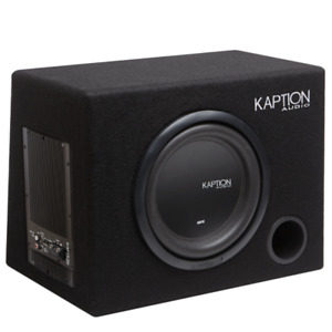 Car audio subwoofer and amp / Trade for PC Racing Wheel