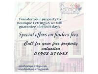 LANDLORDS - Transfer Agent, No Transfer Fee, Tenants Waiting