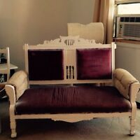 Antique settee/loveseat