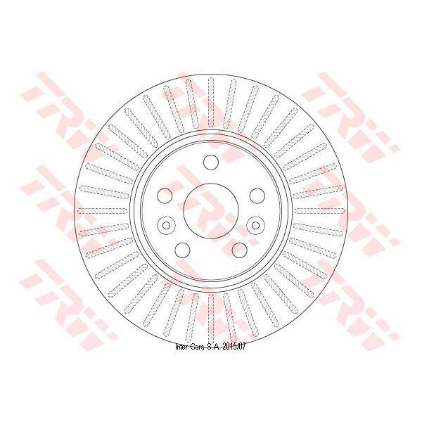 Bremsscheibe 1 Stück TRW DF6449