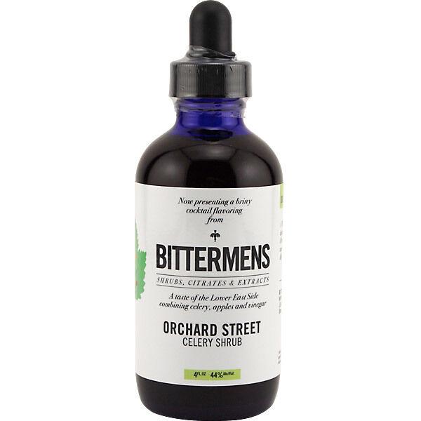 Bittermens Orchard Street Celery Shrub Cocktail Bitters - 5 oz - Drink Mixology