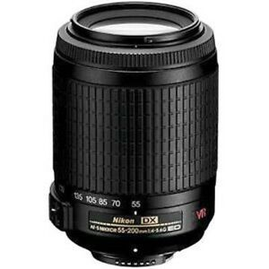 NEW Nikon Nikkor 55-200mm F/4.0-5.6 AF-S VR DX IF ED G Lens 55-200 mm