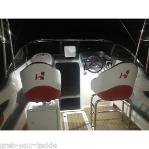 Boat-Light-12-v-LED-Boat-Marine-Caravan-Waterproof-Lamp-white-Trim-Slim-fit