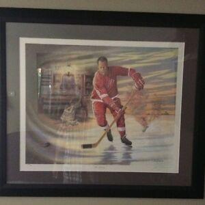 Gordie Howe - Mr Hockey- Print