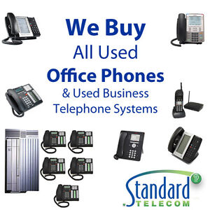 We buy all used Office Phones & Business Phone Equipment