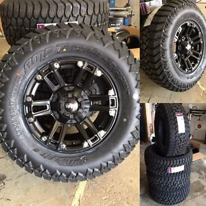 ***NEW*** Ruffino 17x9 Renegade II Jeep Wrangler rubicon off-road package 5 rims and 5 tires