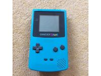 NINTENDO GAMEBOY COLOUR CONSOLE + GAMES