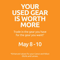 *TRADE-UP YOUR USED CAMERA GEAR*