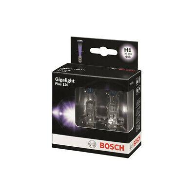 H1 Halogen Bulbs 2pcs 12V 55W GIGALIGHT Plus 120 P14,5s BOSCH 1987301105