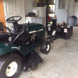 Craftsman Snowblower and Lawntractor