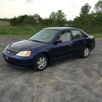2002 Honda Civic Dx automatique Berline