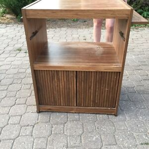 Storage Cabinet For A Bar or Recreational Room