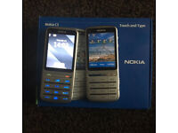 2 x Nokia C3-01 Touch Type mobile phones