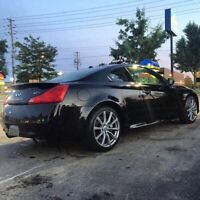 2008 Infiniti G37S Coupe With Warranty & Clean Carproof