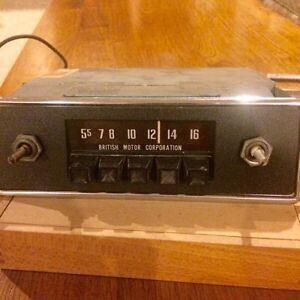 60s-70s British,European Car Radios