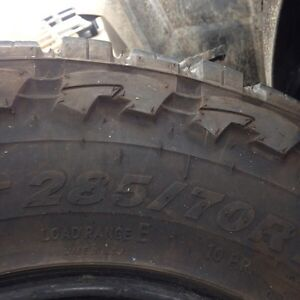 4 Truck Tires Excellent Condition  St. John's Newfoundland image 4