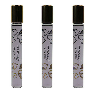 Princess by Vera Wang for Women Combo Pack:EDT Rollerball 1oz(3x0.33oz...