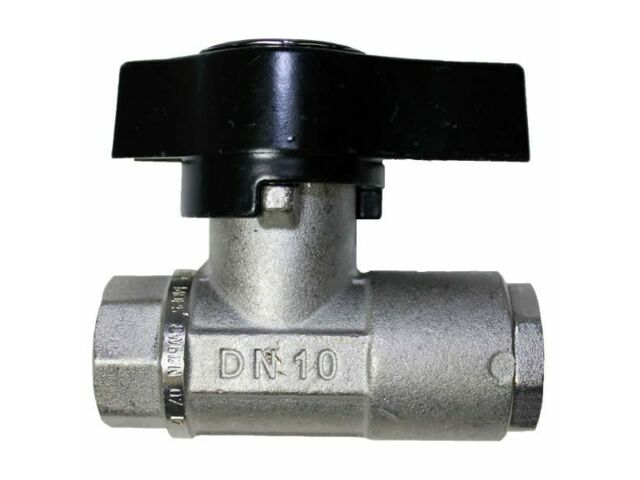 "MTM Hydro 3/8"" Heavy Duty Brass Ball Valve FxF 3000 PSI"