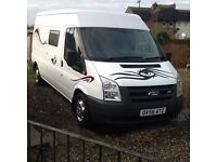 FORD TRANSIT LWB/MR CAMPERVAN CONVERSION SOLD SOLD