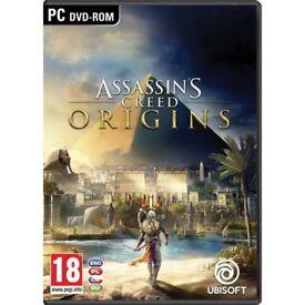Assassins Creed Origins Game Code PC £30 ONO