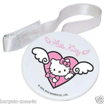 2 x Hello Kitty Soother Holder Newborn Baby Girls Bottle Accessories BPA Free