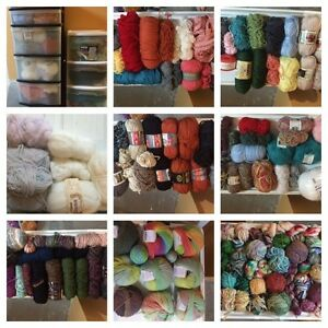 Yarn and wool de stash!