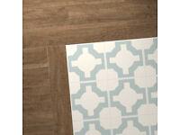 Neisha Crosland Parquet Eggshell Tiles