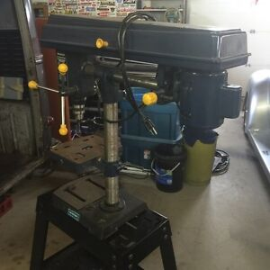 "26"" Mastercraft Radial Drill Press Self Stand or Bench"