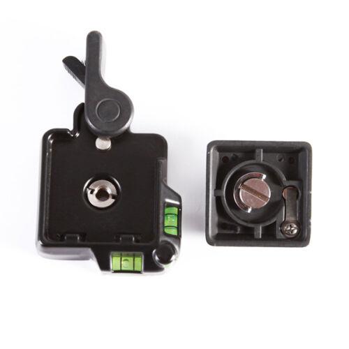 Clamp & Quick Release QR Plate For Tripod Monopod Ball Head Benro DSLR Camera