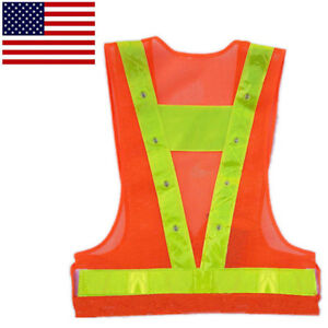 Back To Search Resultssports & Entertainment Cheap Price Unisex Reflective Cycling Vest Running Safety Warning Strips Fluorescence Night Clothes Bike Bicycle Sport Strap Reflector Tape Cycling Clothings