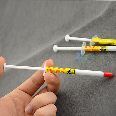 1pc Best Value 1g White Thermal Grease Computer PC CPU Heat Sink Compound (Best Pc Thermal Compound)