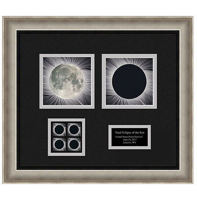 USPS New Total Eclipse of the Sun Framed Art