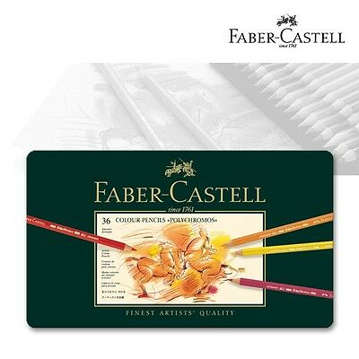 Polychromos Künstlerfarbstift,  Faber-Castell 110036, 36er Metalletui
