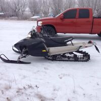 Want to trade sled for a race quad!