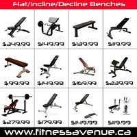 Fully Adjustable Multi-FID Benches Workout Bench Press Benches