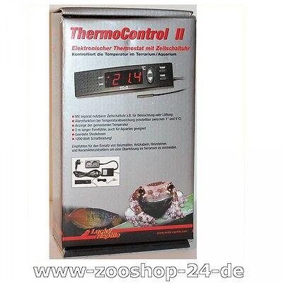 Lucky Reptile Thermo Control 2, digitaler Thermostat mit Zeitschaltuhr,Terrarium