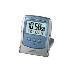 NEW CASIO PQ65-2D TRAVEL Alarm Clock Thermometer LED Light PQ-65 USA Seller