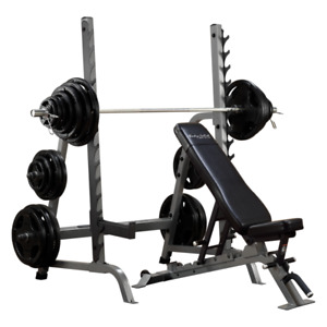 Bench rack combo, complet.