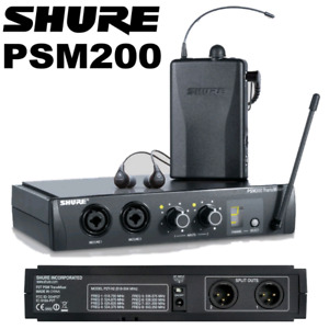 Shure in ear monitors