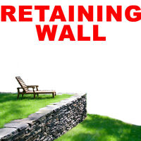 RETAINING WALL INSTALLATION SERVICE