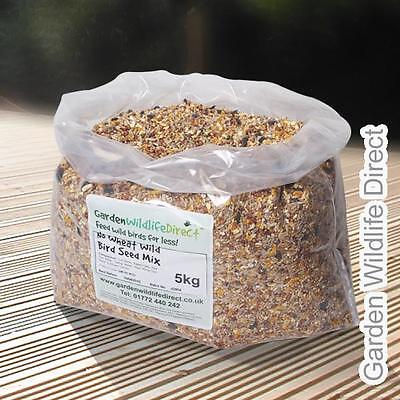 25 Kg No Wheat Wild Bird Seed Mix for Garden Birds