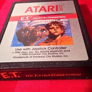 E.T Atari 2600 jeux 20$ Shipping inclus (PayPal)