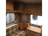 6 berth Bailey Pageant Bretagne 2007 caravan with awning for sale