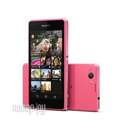"Sony Ericsson 4.3"" XPERIA Z1 Compact D5503 16GB 4G LTE Débloqué Téléphone Rose segunda mano  Embacar hacia Argentina"